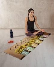 GOD SAYS YOU ARE Yoga Mat 70x24 (horizontal) aos-yoga-mat-lifestyle-18