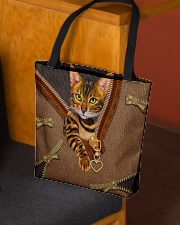BENGAL CAT All-over Tote aos-all-over-tote-lifestyle-front-02