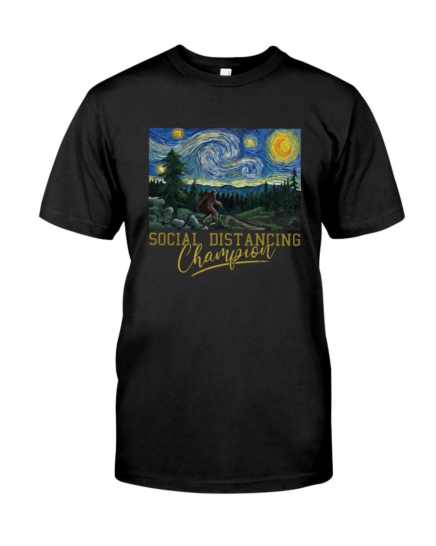 SOCIAL DISTANCING CHAMPION BIGFOOT Classic T-Shirt
