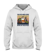 THIS WITCH NEEDS COFFEE Hooded Sweatshirt thumbnail