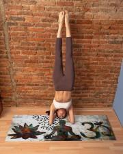 BUDDHA OM SYMBOL YOGA Yoga Mat 70x24 (horizontal) aos-yoga-mat-lifestyle-20