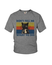 DON'T TELL ME WHAT TO DO Youth T-Shirt thumbnail