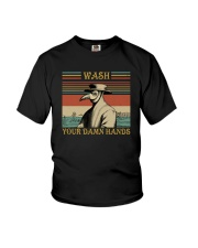 WASH YOUR DAMN HANDS Youth T-Shirt thumbnail