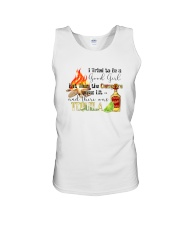 THE CAMPFIRE WAS LIT AND THERE WAS TEQUILA Unisex Tank thumbnail