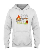 THE CAMPFIRE WAS LIT AND THERE WAS TEQUILA Hooded Sweatshirt thumbnail