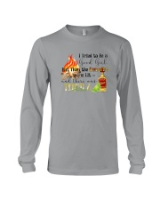 THE CAMPFIRE WAS LIT AND THERE WAS TEQUILA Long Sleeve Tee thumbnail