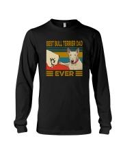 Best Bull Terrier Dad Ever Long Sleeve Tee thumbnail