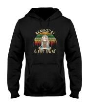 NAMAST'AY 6 FEET AWAY SKULL Hooded Sweatshirt thumbnail