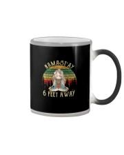 NAMAST'AY 6 FEET AWAY SKULL Color Changing Mug thumbnail