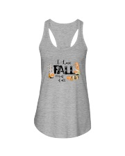 I LOVE FALL MOST OF ALL Ladies Flowy Tank thumbnail