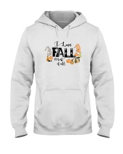 I LOVE FALL MOST OF ALL Hooded Sweatshirt thumbnail