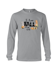 I LOVE FALL MOST OF ALL Long Sleeve Tee thumbnail