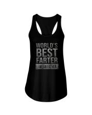 WORLD'S BEST FARTER Ladies Flowy Tank thumbnail