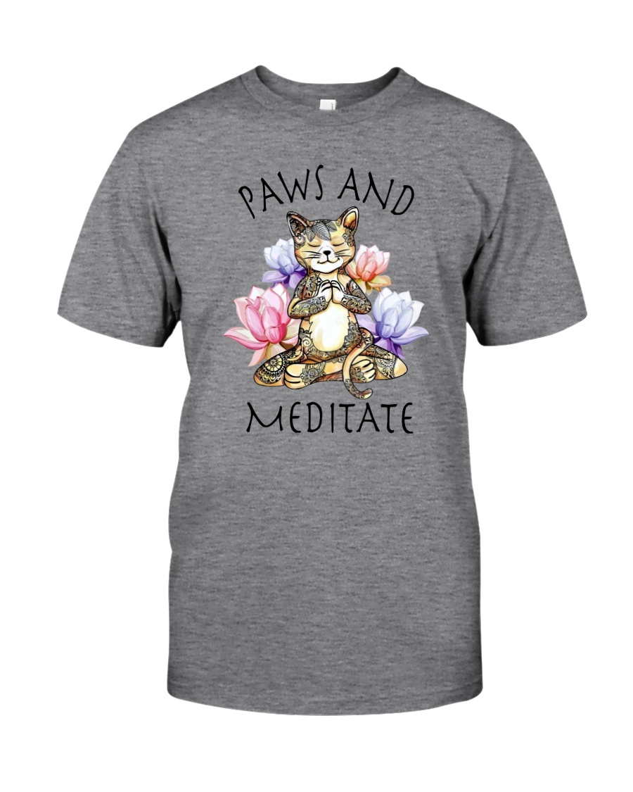 PAWS AND MEDITATE Classic T-Shirt