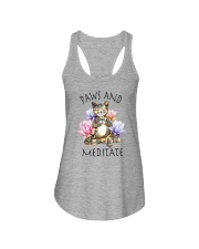PAWS AND MEDITATE Ladies Flowy Tank thumbnail