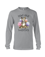 PAWS AND MEDITATE Long Sleeve Tee thumbnail