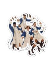 A Hamilton Sticker - 4 pack (Vertical) front