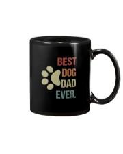 BEST DOG DAD EVER VINTAGE Mug thumbnail