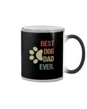BEST DOG DAD EVER VINTAGE Color Changing Mug thumbnail
