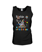 ROCKIN TO A DIFFERENT TUNE Unisex Tank thumbnail