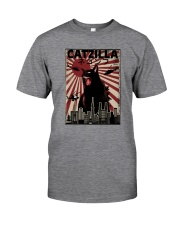 VINTAGE CATZILLA JAPANESE SUNSET STYLE Classic T-Shirt front