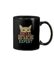 SOCIAL DISTANCING EXPERT VINTAGE Mug thumbnail