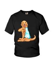 GOLDEN RETRIEVER I LOVE MOM Youth T-Shirt thumbnail