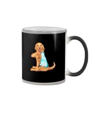 GOLDEN RETRIEVER I LOVE MOM Color Changing Mug thumbnail