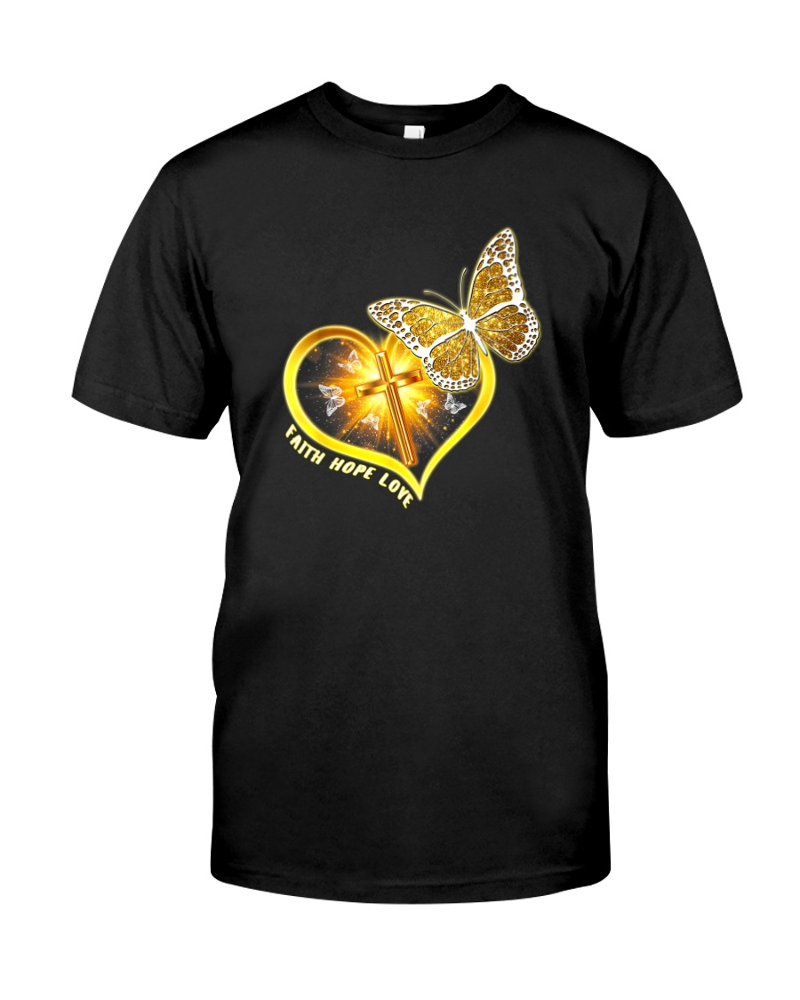 FAITH LOVE HOPE Classic T-Shirt