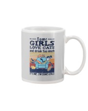 SOME GIRLS LOVE CATS AND DRINK TOO MUCH Mug thumbnail