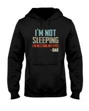 I'M NOT SLEEPING I'M RESTING MY EYES Hooded Sweatshirt thumbnail