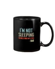 I'M NOT SLEEPING I'M RESTING MY EYES Mug thumbnail