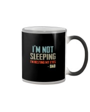 I'M NOT SLEEPING I'M RESTING MY EYES Color Changing Mug thumbnail