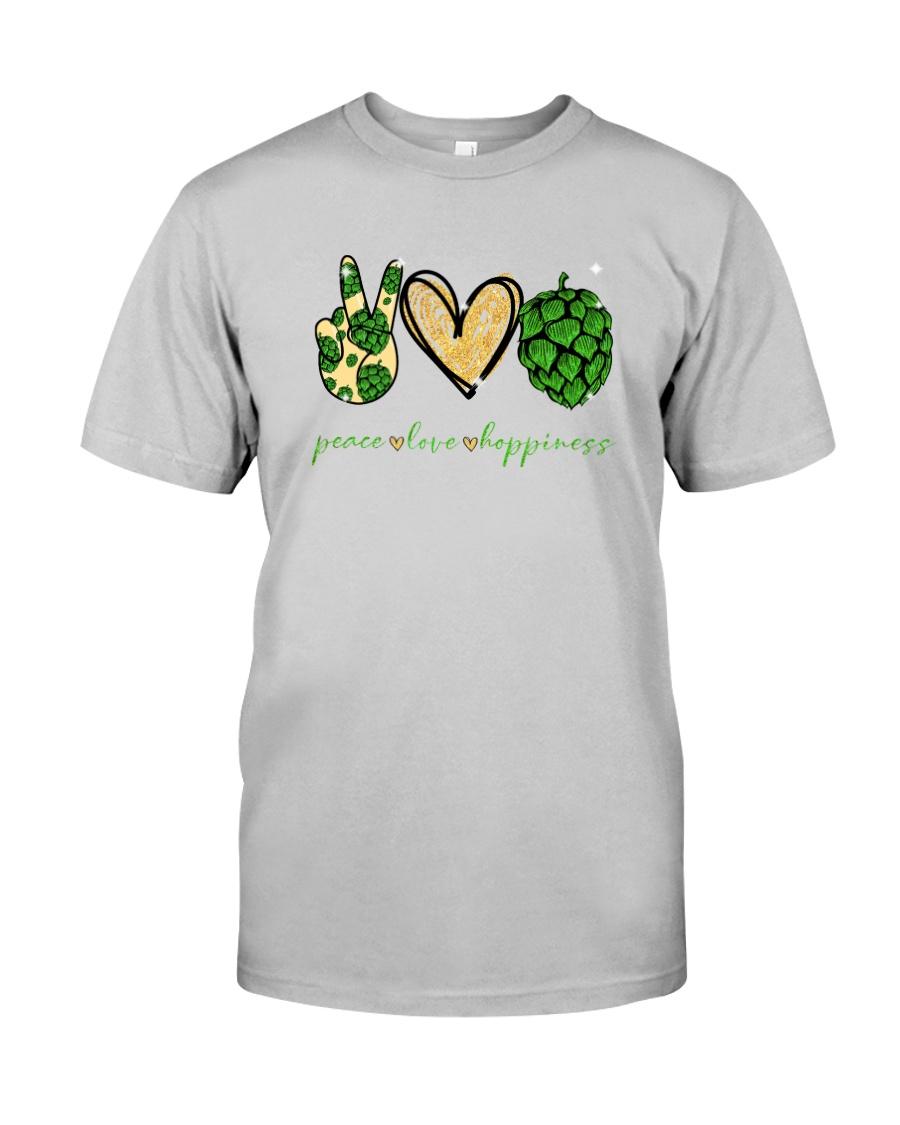 PEACE LOVE HOPPINESS Classic T-Shirt