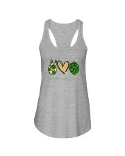 PEACE LOVE HOPPINESS Ladies Flowy Tank thumbnail