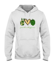 PEACE LOVE HOPPINESS Hooded Sweatshirt thumbnail