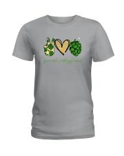 PEACE LOVE HOPPINESS Ladies T-Shirt thumbnail