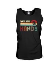 WASH YOUR HANDS VINTAGE Unisex Tank thumbnail