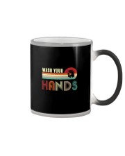 WASH YOUR HANDS VINTAGE Color Changing Mug thumbnail
