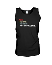 POPS THE BAD INFLUENCE Unisex Tank thumbnail