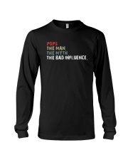 POPS THE BAD INFLUENCE Long Sleeve Tee thumbnail