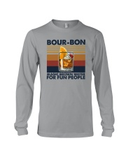 BOURBON MAGIC BROWN WATER FOR FUN PEOPLE Long Sleeve Tee thumbnail