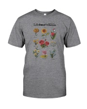 LIFE IS FULL OF IMPORTANT CHOICES PLANTS Classic T-Shirt front