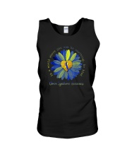 BE KIND DOWN SYNDROME AWARENESS Unisex Tank thumbnail
