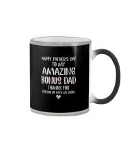 HAPPY FATHER'S DAY AMAZING BONUS DAD Color Changing Mug thumbnail