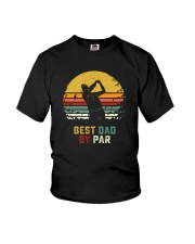 BEST GOLF DAD BY PAR Youth T-Shirt thumbnail