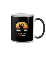 BEST GOLF DAD BY PAR Color Changing Mug thumbnail