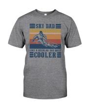 SKI DAD LIKE REGULAR DAD ONLY COOLER Classic T-Shirt front