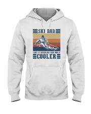 SKI DAD LIKE REGULAR DAD ONLY COOLER Hooded Sweatshirt thumbnail