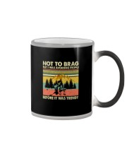 I WAS AVOIDING PEOPLE BEFORE IT WAS TRENDY Color Changing Mug thumbnail